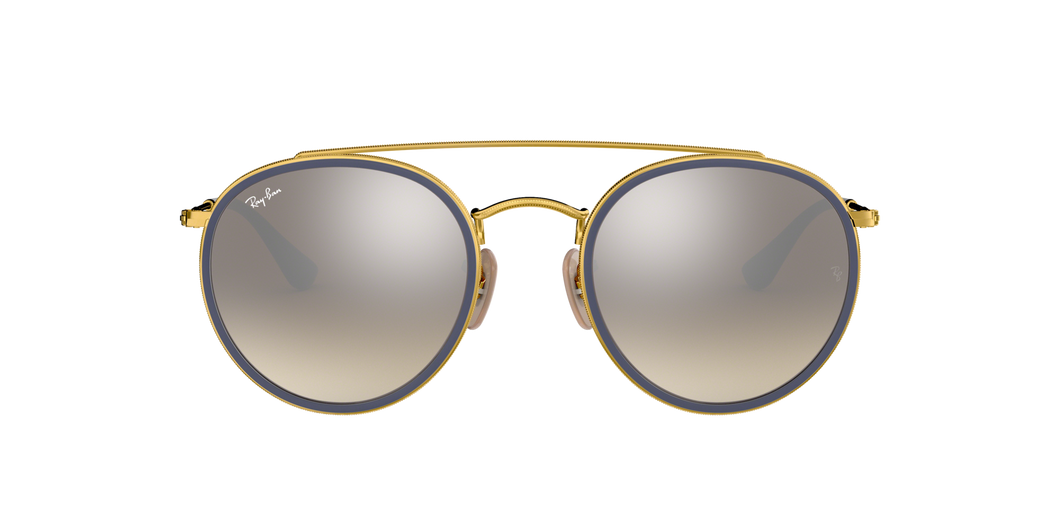 RAY-BAN ROUND DOUBLE BRIDGE RB3647-N
