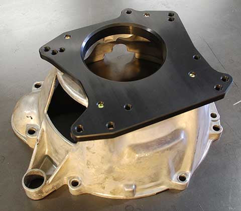 Dual Pattern Ford T5 / TKO Adapter Plate - Kaplhenke Racing LLC