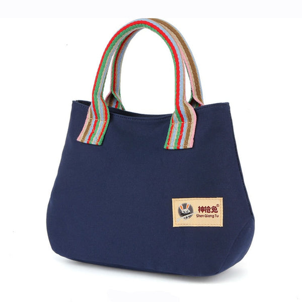 Shonlo | Tote Ladies Hand Bags Canvas Shoulder