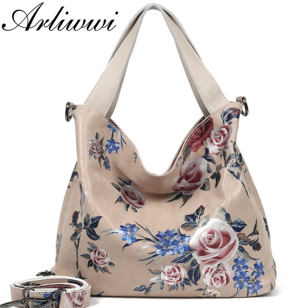 Shonlo | Large FLower Hobos Fashion Bags For Women