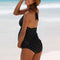 Shonlo | New Plus Size Maternity Swimwear Black  Tankinis