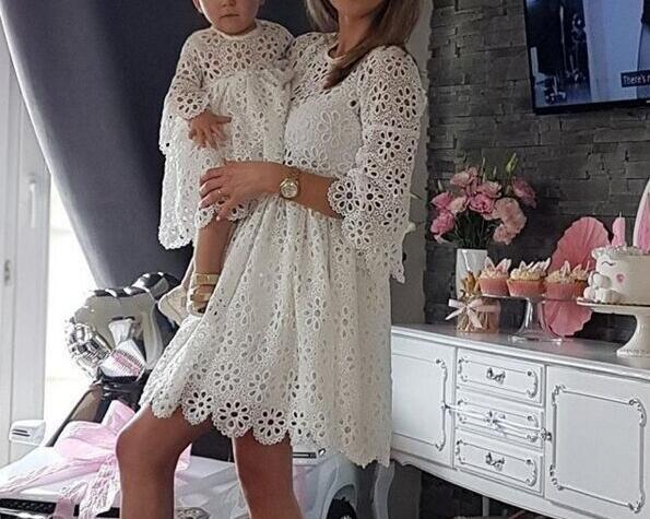 Shonlo | Family Matching Clothes Mother Daughter Dresses