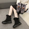 Shonlo | Ankle Boots Lace Up Fur boots
