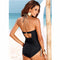 Shonlo | Sexy Push Up Tankini Set Vintage High Waisted