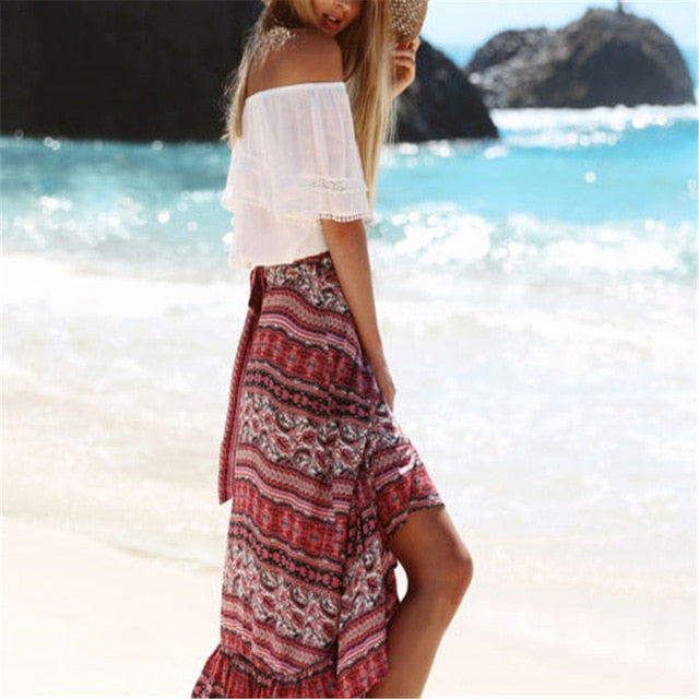 Shonlo | Magic Maxi Skirt Boho Hippie