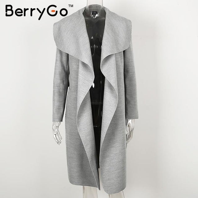 Shonlo | BerryGo Warm turndown collar jacket