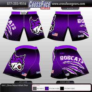 Gilmer Bobcat Full Sublimated Athletic Short