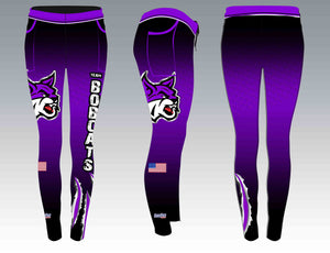 Gilmer Bobcat Full Sublimated Leggings