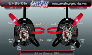 Red Nose Wrestling Custom Headgear 2020