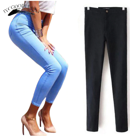 Jeans For Women Stretch High Waist Jeans
