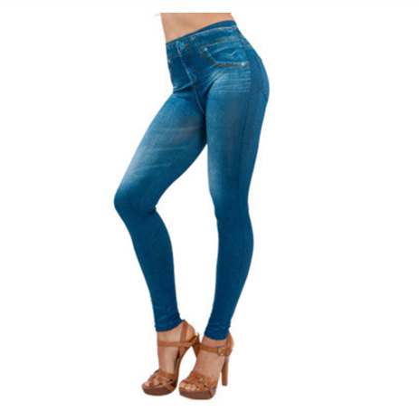 Newly Women Thin Jeans Leggings with Pocket