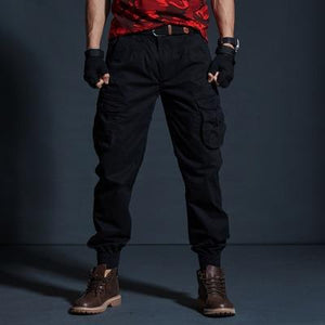 High Quality Casual Pants Men Military Tactical Camouflage Cargo Pants Multi-Pocket