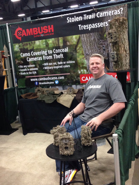 Shawn is ready for the Iowa Deer Classic 2014 in Booth #421