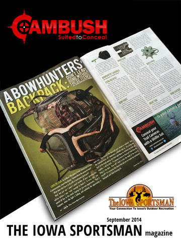 CAMBUSH article A Bowhunters' Backpack