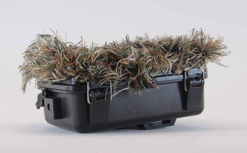 "CAMBUSH 3D Concealment - ""Ghillie Suit"" for your Trail Camera"