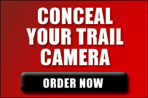Conceal your trail camera and order your CAMBUSH camo today!