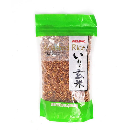 Wel-Pac Roasted Rice Iri Genmai 8.0oz