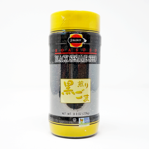 J-Basket Roasted Black Sesame Seed 8.0 oz