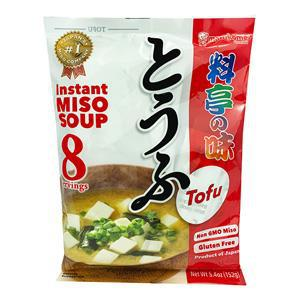 Marukome Instant Miso Soup No Msg Added Tofu 8p 5.4oz