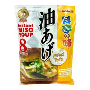 Marukome Instant Miso Soup No Msg Added Fried Tofu Net Wt5.4oz