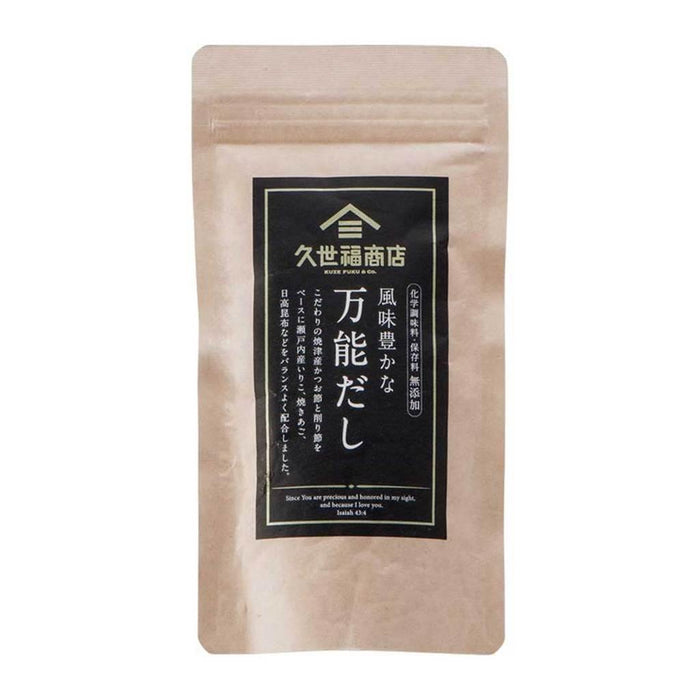 KUZEFUKU BANNO DASHI Soup Base & Seasoning, 5-Packet 1.41oz / 40g