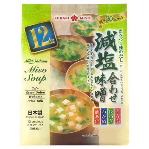 Instant Miso Soup Reduced Sodium