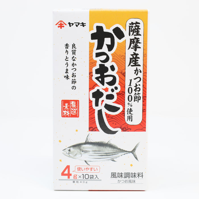 Yamaki Satsuma Katsuo Dashi Seasoning powder 4g x 10p 1.4oz/40g