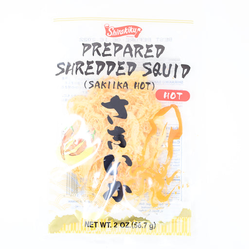 Shirakiku Dried Squid Sakiika Hot 2oz/56.7g