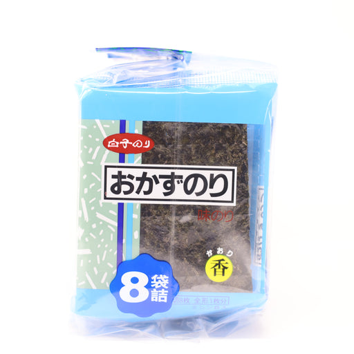 Shirakonori Okazunori Seasoned Roasted Seaweed 8p 0.79 oz/22.4g