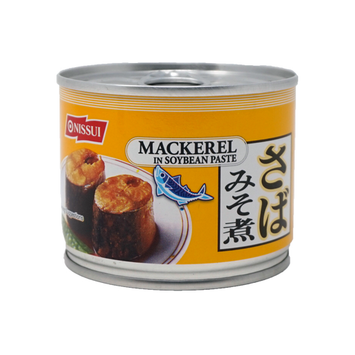 NISSUI SABA Mackerel in SoyBean Paste 6.70oz/190g