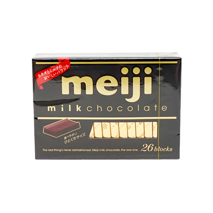 Meiji Milk Chocolate 26blocks 4.23oz