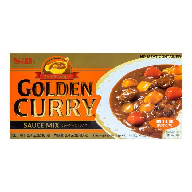 SB Golden Curry Mild 220g