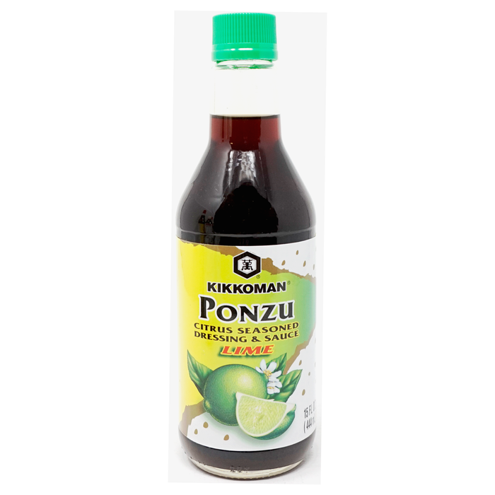 Kikkoman Ponzu Citrus seasoned Dressing and Sauce LIME 15fl oz