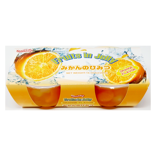 Shirakiku Fruits in Jelly Orange 2pc 14.1oz