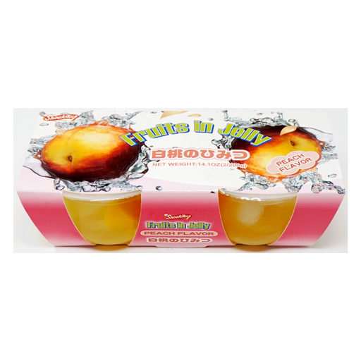 Shirakiku Fruits in Jelly Peach 2pc 14.1oz