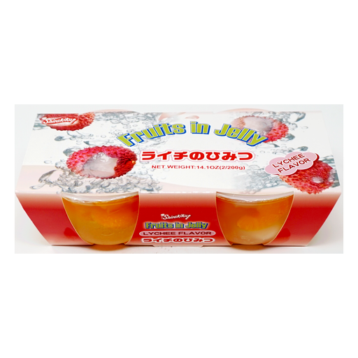 Shirakiku Fruits in Jelly Lychee 2pc 14.1oz