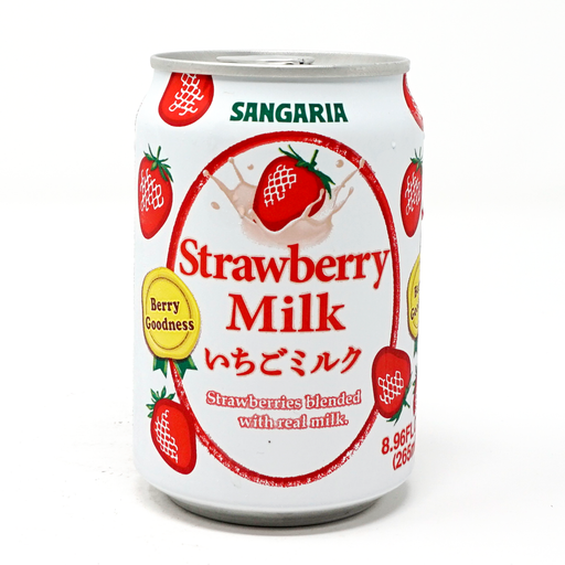 Sangaria Strawberry Milk Tea, 9.47 fl oz