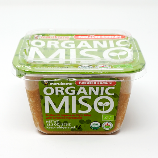 Marukome Organic Miso Reduced Sodium Miso - 13.2 Ounces