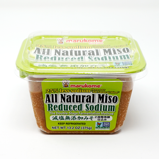 Marukome All Natural Miso Reduced Sodium - 13.2 Ounces
