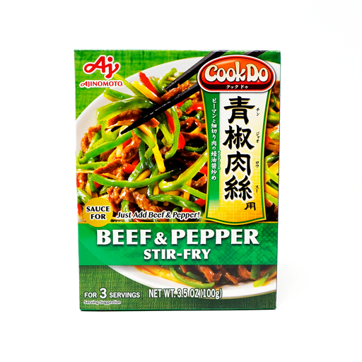 Ajinomoto Cook Do Beef and Pepper Stir-Fry 3.5 oz