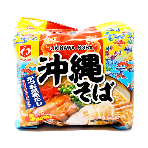 MYOJO Okinawa Soba 5 packs 3.10oz(88g) x 5