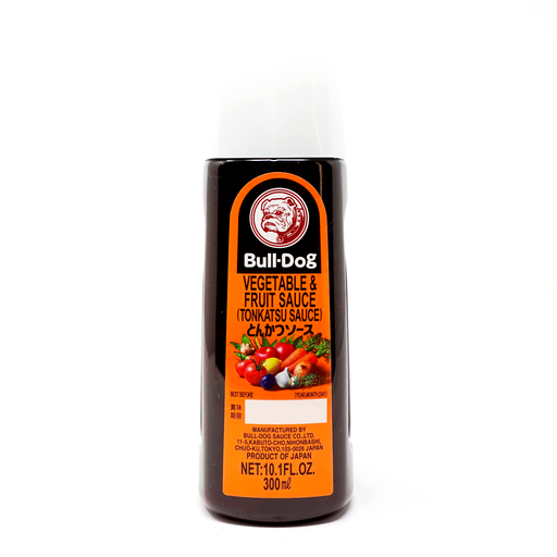 Bulldog Vegetable'&Fruit Sauce (Tonkatsu Sauce) Net Wt. 10.1fl oz (300ml)