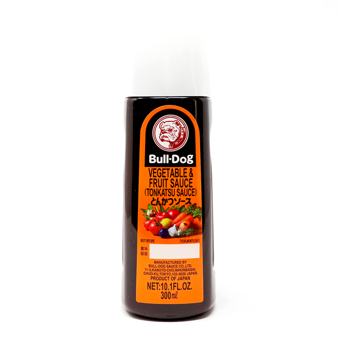 Bulldog Vegetable and Fruit Sauce Tonkatsu Sauce 10.1fl oz/300ml