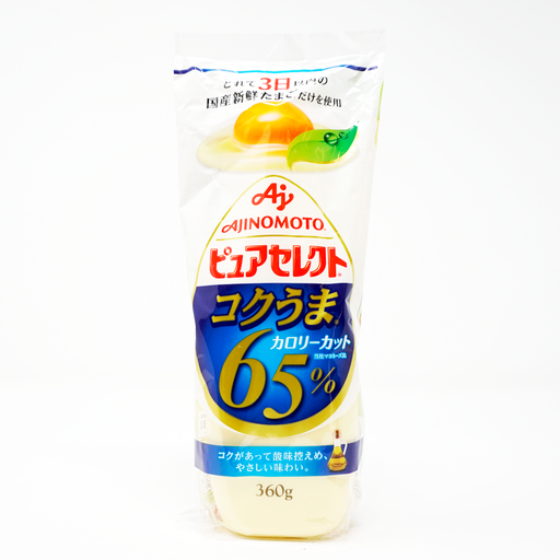 Ajinomoto Pure Select Koku Uma Mayonnaise (65% Calorie Cut) 12.6oz