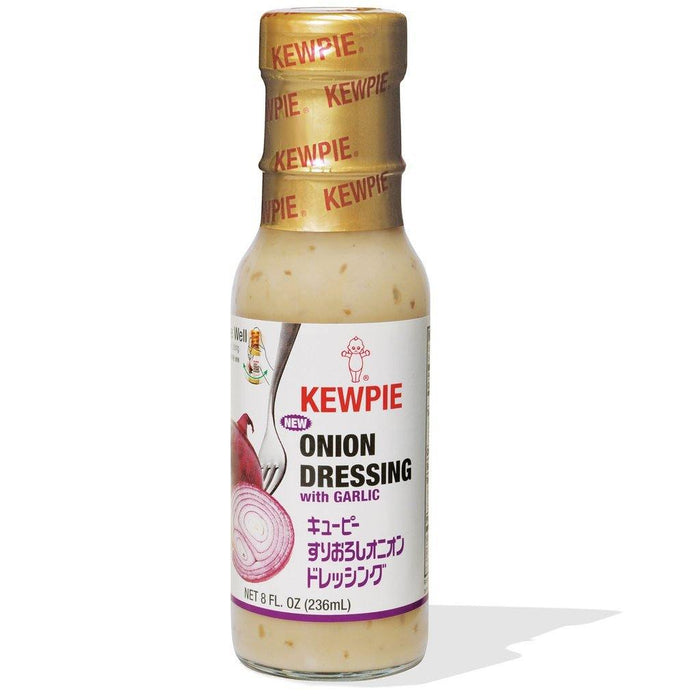 KEWPIE ONION DRESSING WITH GARLIC (8OZ)