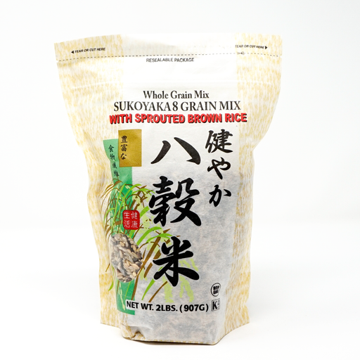 Whole Grain Mix Sukoyaka 8 Grain Mix with Sprouted Brown Rice 2 lbs