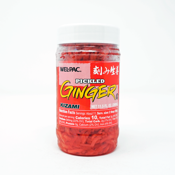 WEL-PAC Pickled Ginger Kizami 11.5fl oz