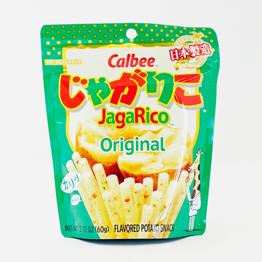 Calbee Jagariko Original Flavored Potato Snack 2.12oz 60g