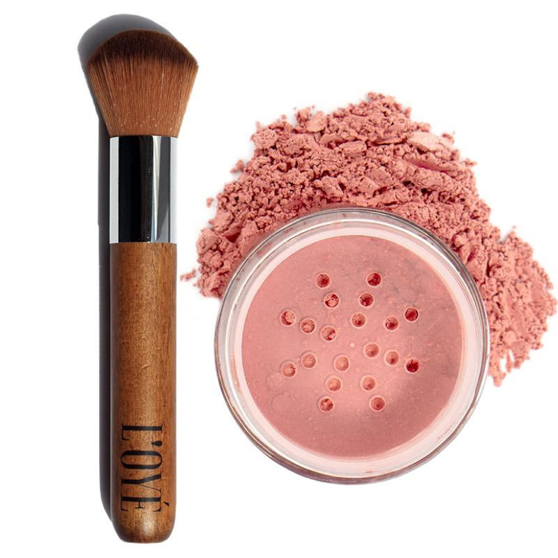 Powder Pro Brush (B02) + Blush