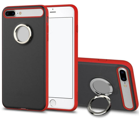 Magnetic Ring Kickstand Phone Case Protective Back Cover for iPhone 7 Plus - Zouhrphonecase